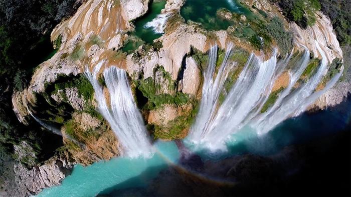 1 místo nejvíce lajků vodopády