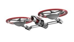 Koncept dronu Tesla, zdroj: DigitalRev