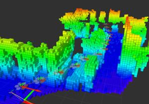 Dron si vytváří vlastní 3D mapu, pomocí které se může pohybovat i v neznámém prostředí s vysokou mírou samostatnosti, zdroj: dronelife