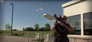 Battelle DroneDefender, zamířit..., zdroj: Battelle