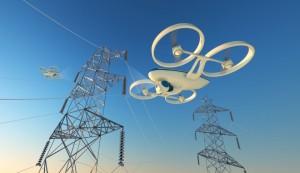 Drony jako inspektoři vedení, zdroj: Fortune