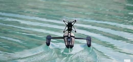 Parrot Hydrofoil na vodě, zdroj: Parrot, gizmodo
