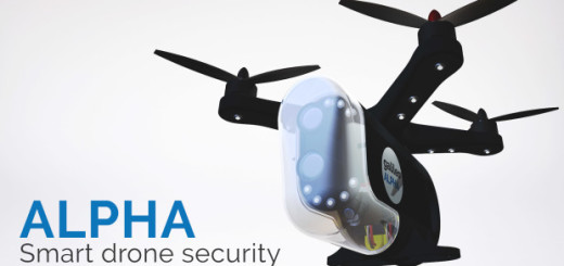 Alpha Security drone, zdroj: Alpha Security