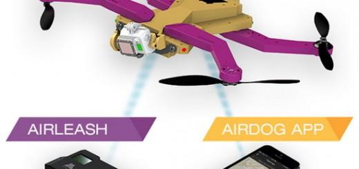 AirDog a AirLeash, zdroj: camyx.com