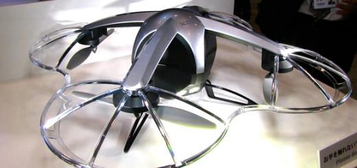 Bezpečnostní dron SECOM, zdroj: SECOM
